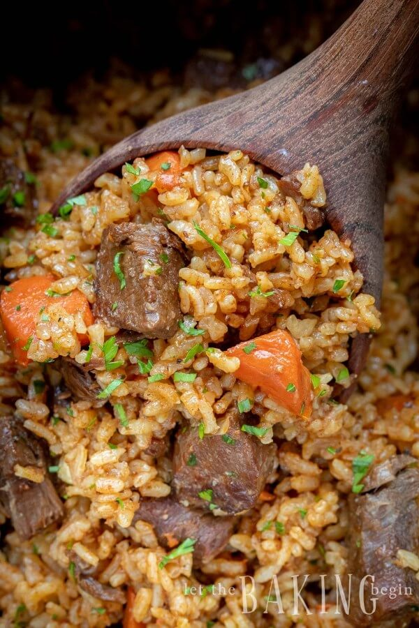 #10 Beef and Rice Pilaf
