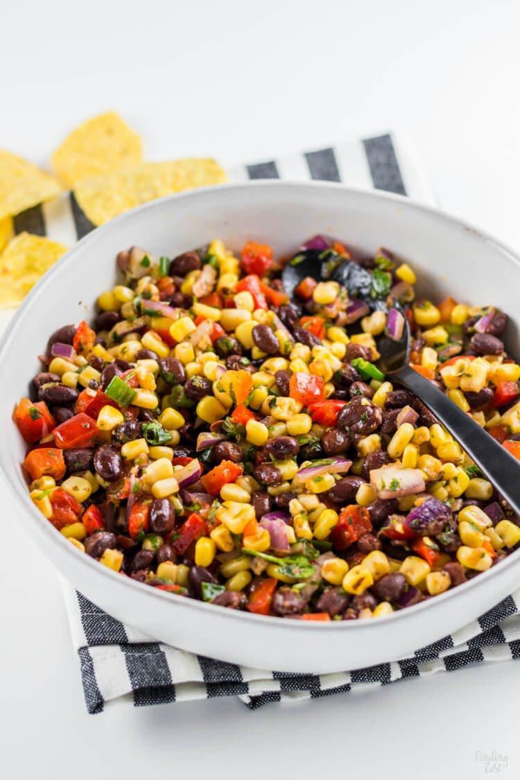 #10 Black Bean Corn Salsa