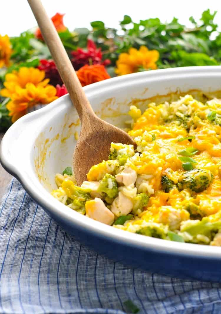 #10 Chicken Broccoli Rice Casserole