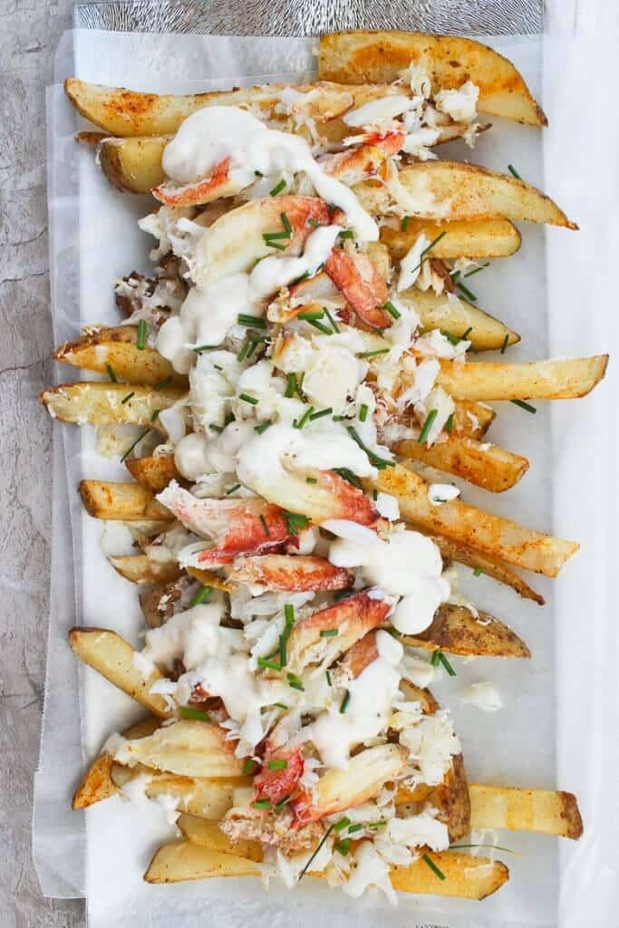 #10 Crab Fries