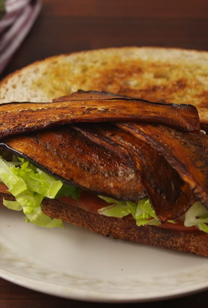 #10 Eggplant Bacon