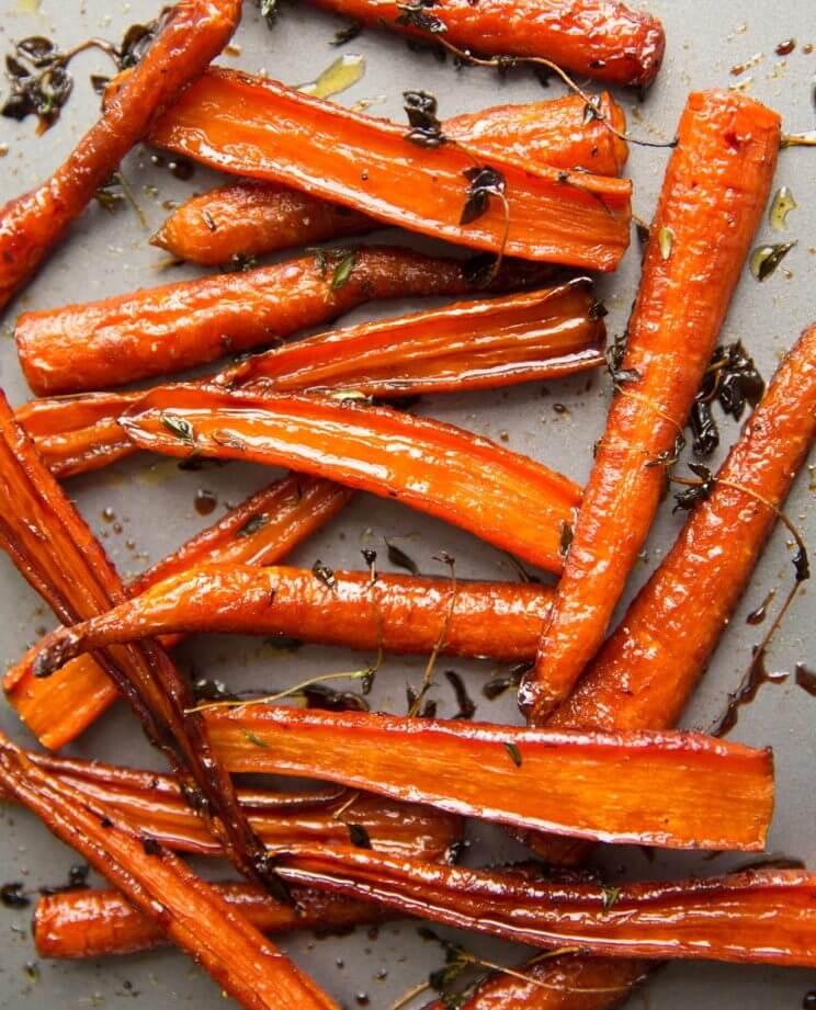 #10 Honey Balsamic Roasted Carrots