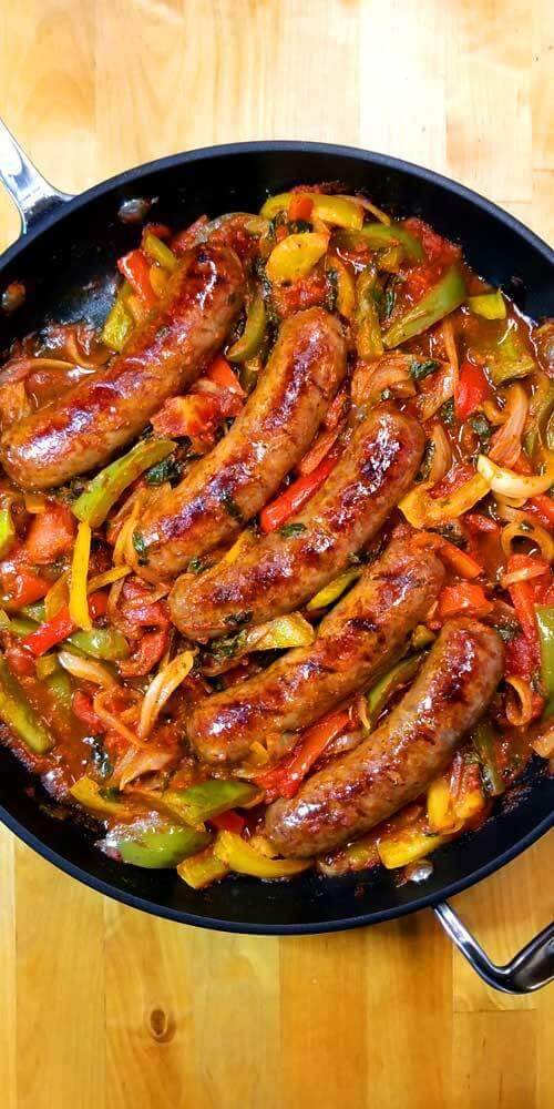 #10 Italian Sausage Pepper and Onion