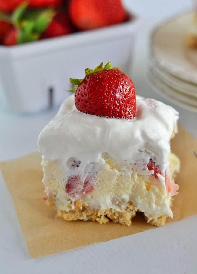 #10 Strawberry Cheesecake Lush
