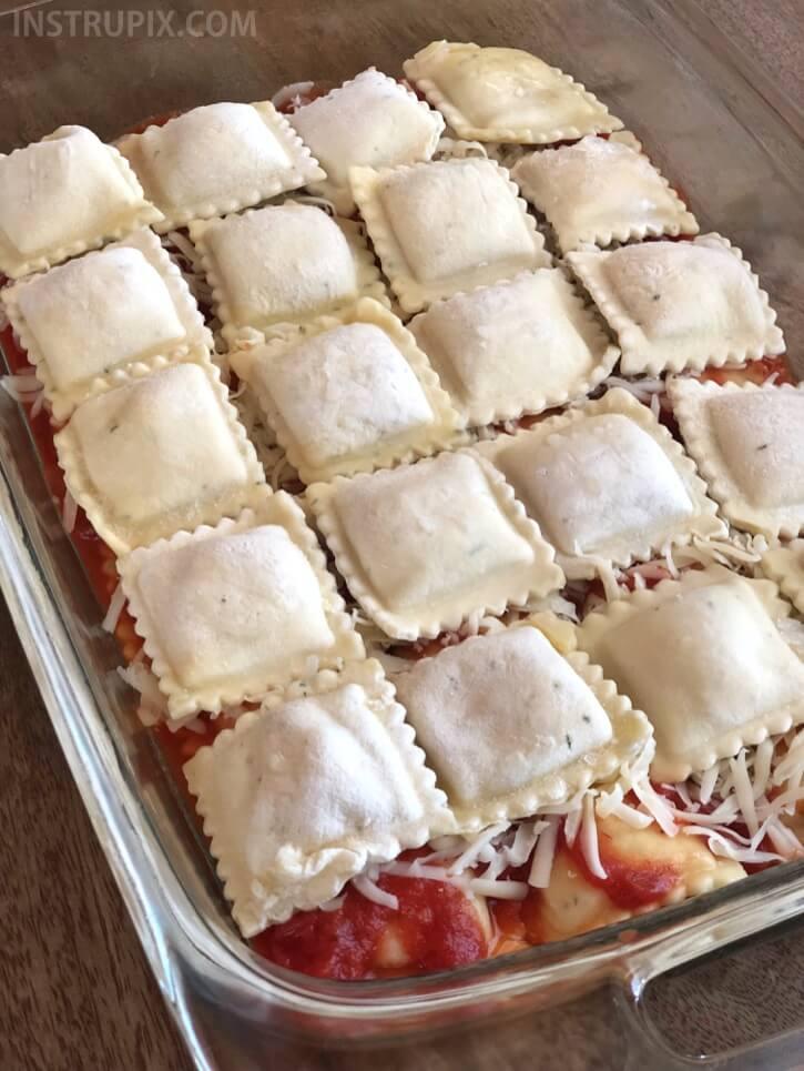#11 3-Ingredient Ravioli Bake