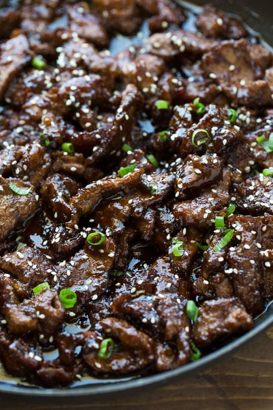 #11 30-minute Beef Teriyaki