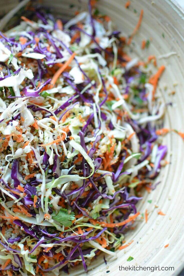 #11 Asian Slaw and Quinoa Salad