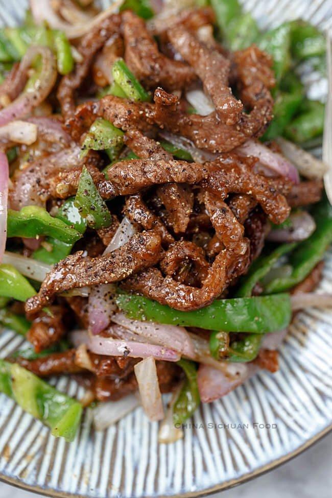 #11 Black Pepper Beef Stir Fry