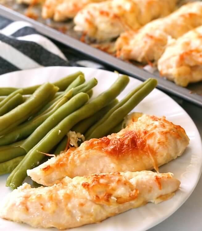 #11 Five Minute Garlic Parmesan Chicken Tenders