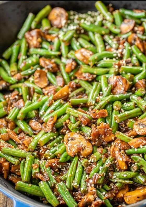 #11 Teriyaki Green Beans rv