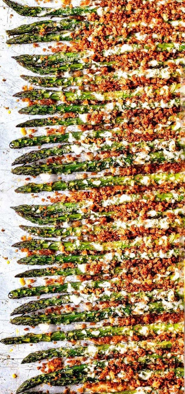 11. Baked Asparagus with Parmesan-min