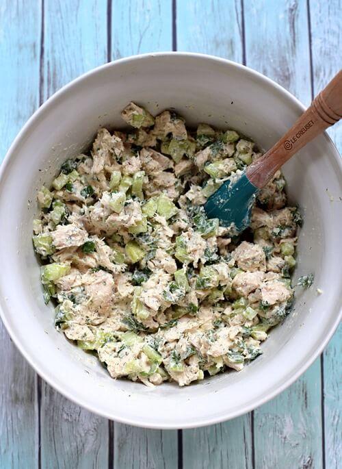 #12 Cucumber Dill Greek Yogurt Rotisserie Chicken Salad