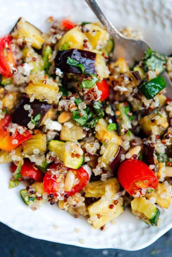 12 Mediterranean Quinoa Salad