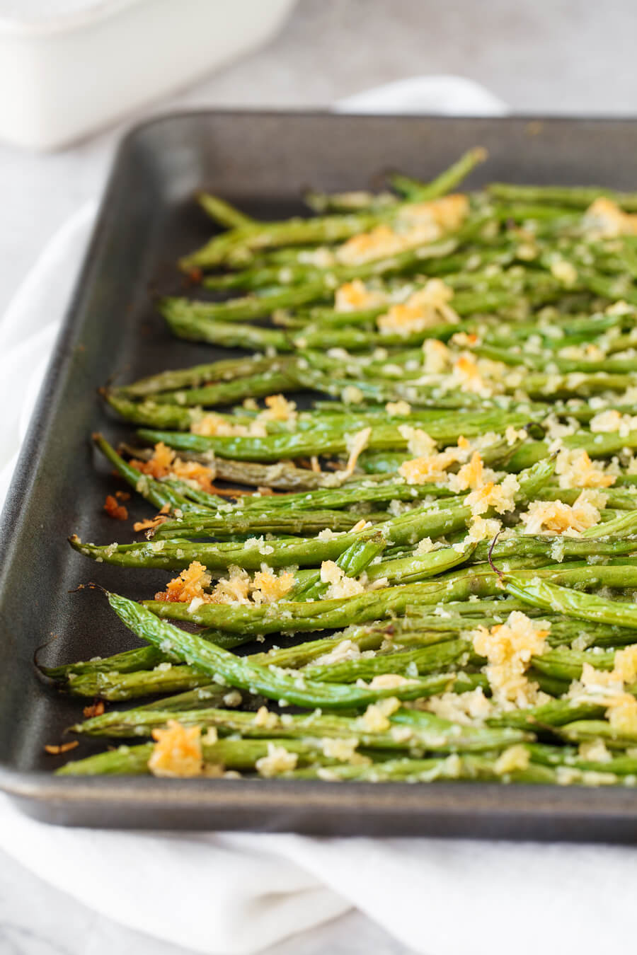 #12 Roasted Green Beans with Parmesan