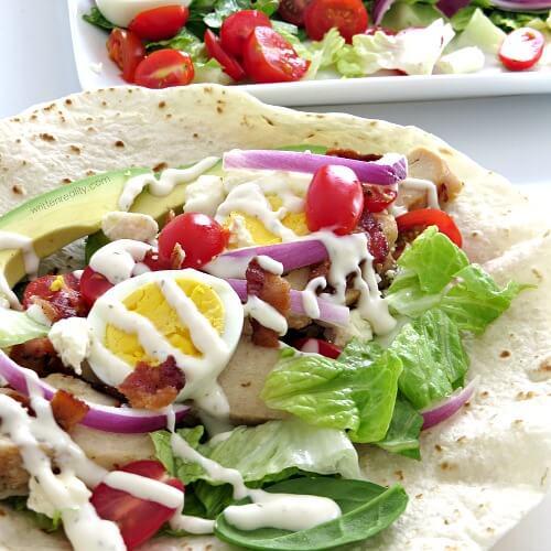 #13 Cobb Salad Wrap
