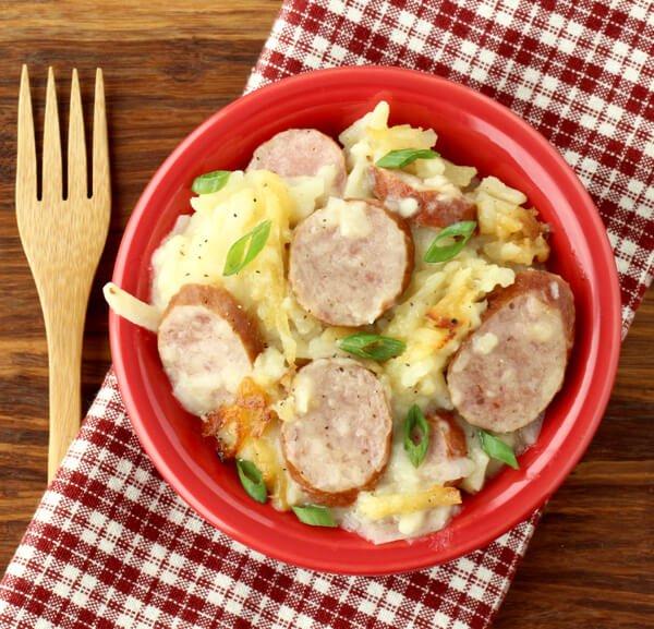 #13 Crockpot Sausage and Potatoes