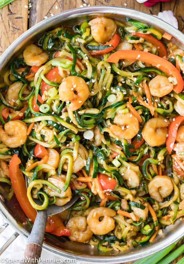 #13 Shrimp and Zucchini Stir Fry