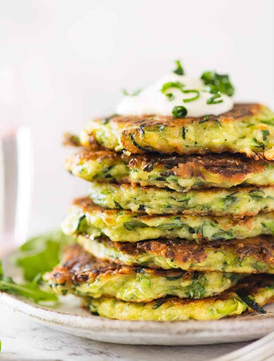 13 Zucchini Corn Pancakes