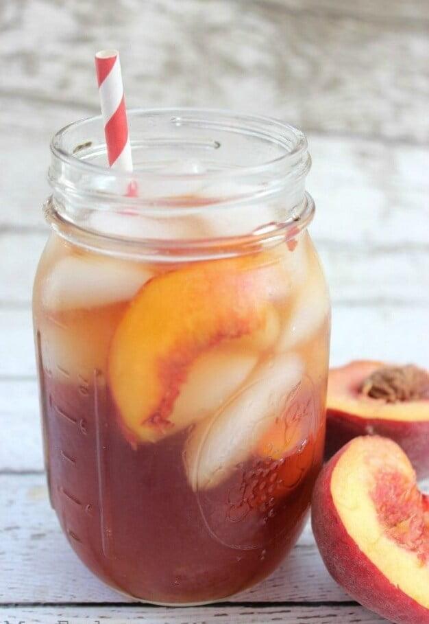13. Copycat Olive Garden Peach Iced Tea