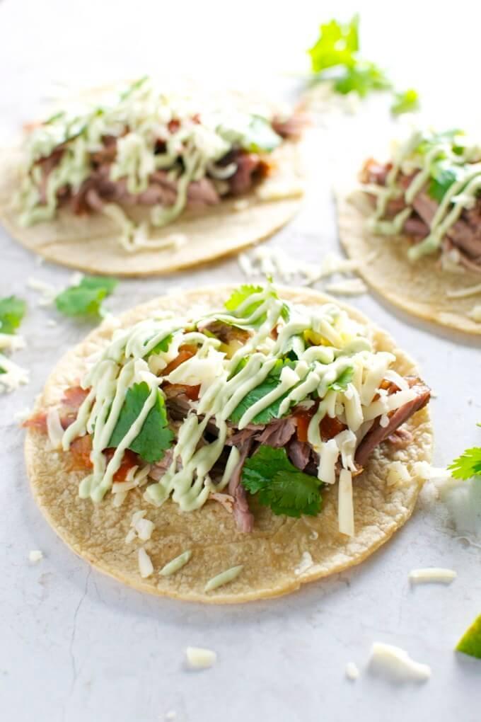 13. Pork Tacos