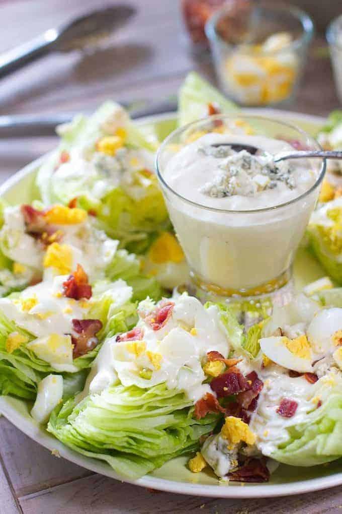 13. Wedge Salad Platter