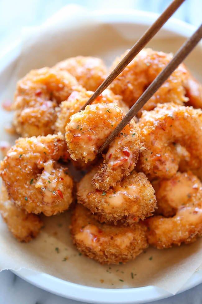 #14 Bang Bang Shrimp