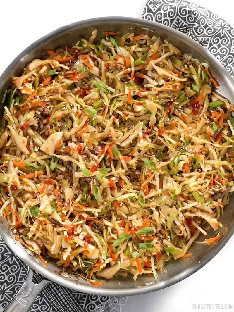 #14 Beef and Cabbage Stir Fry