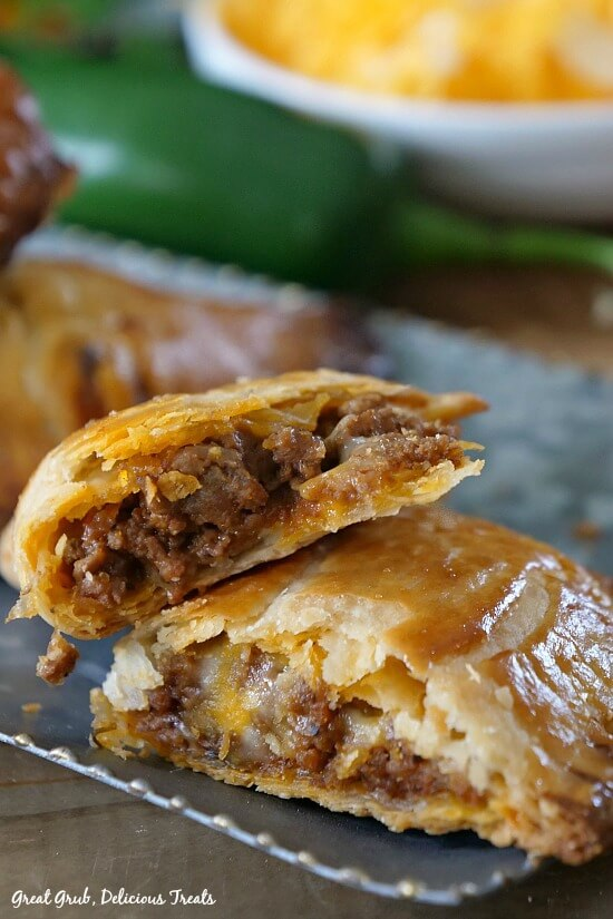 #14 Cheesy Ground Beef Empanadas