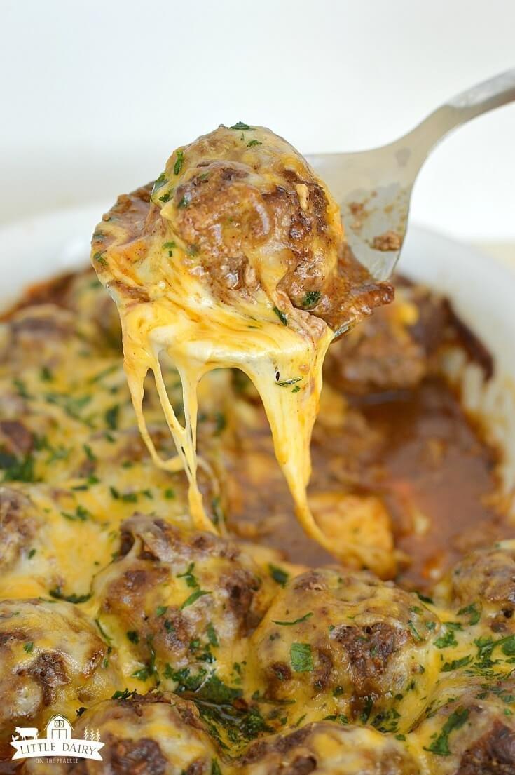 14 Enchilada Meatballs
