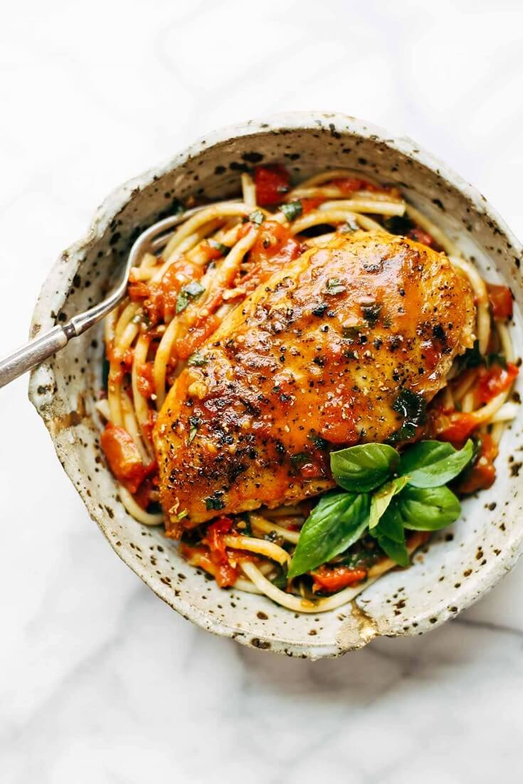 #14 Garlic Basil Chicken