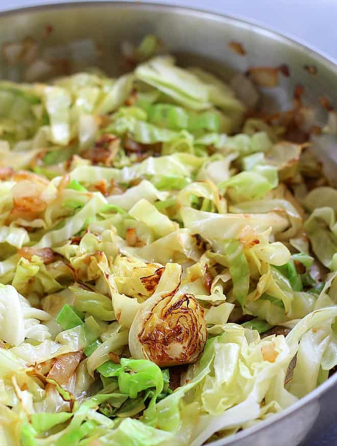 #14 Sauteed Cabbage