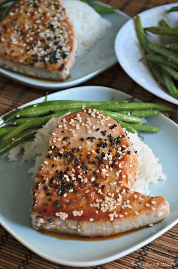 #14 Sesame Ginger Ahi Tuna Steaks
