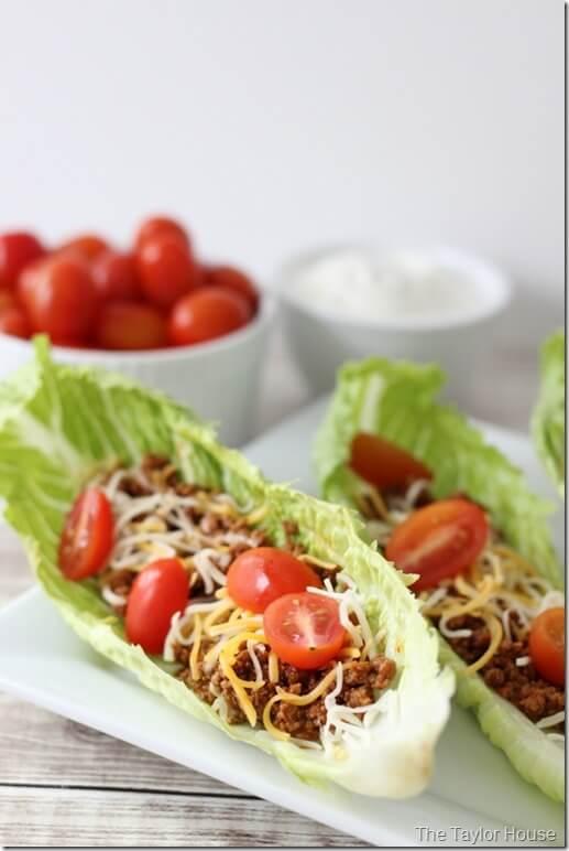 #14 Taco Beef Lettuce Wraps