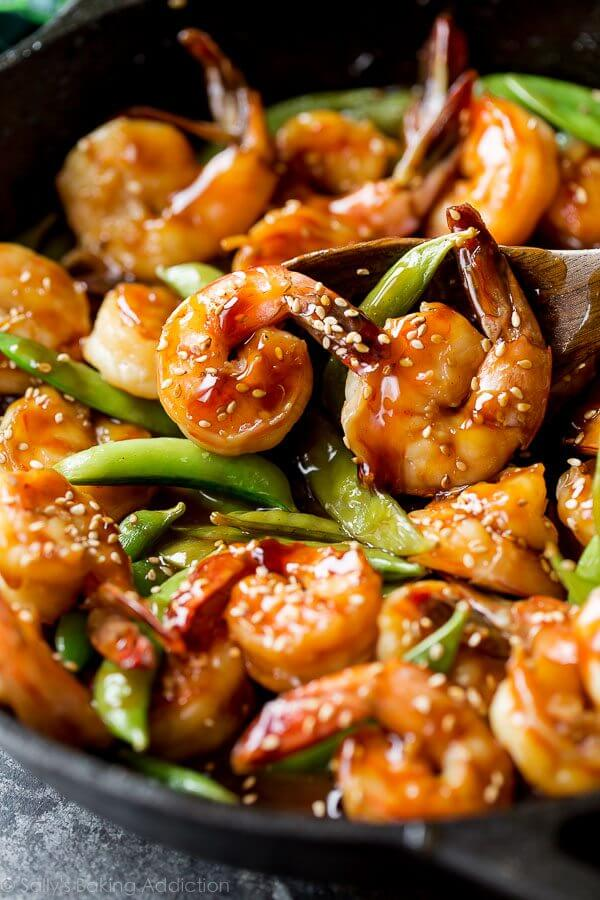 #14 Teriyaki Shrimp Stir Fry with Snap Peas