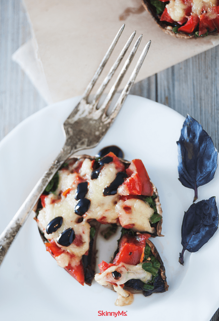 14 Tomato Stuffed Portobello Mushrooms