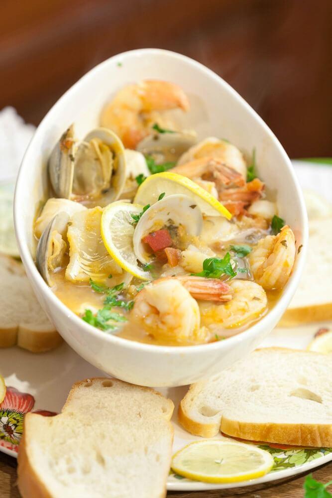 #14 Tuscan Seafood Stew
