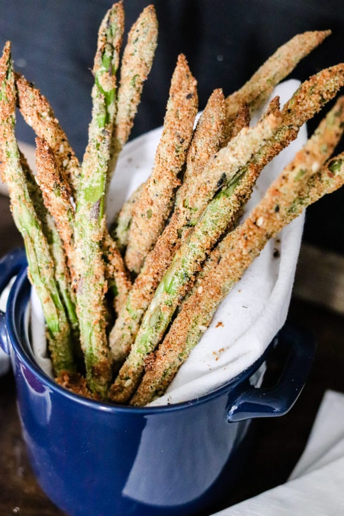 14. Air Fryer Asparagus Fries-min