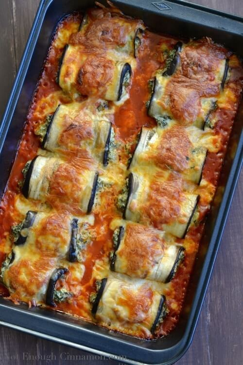 #15 Skinny Eggplant Rollatini