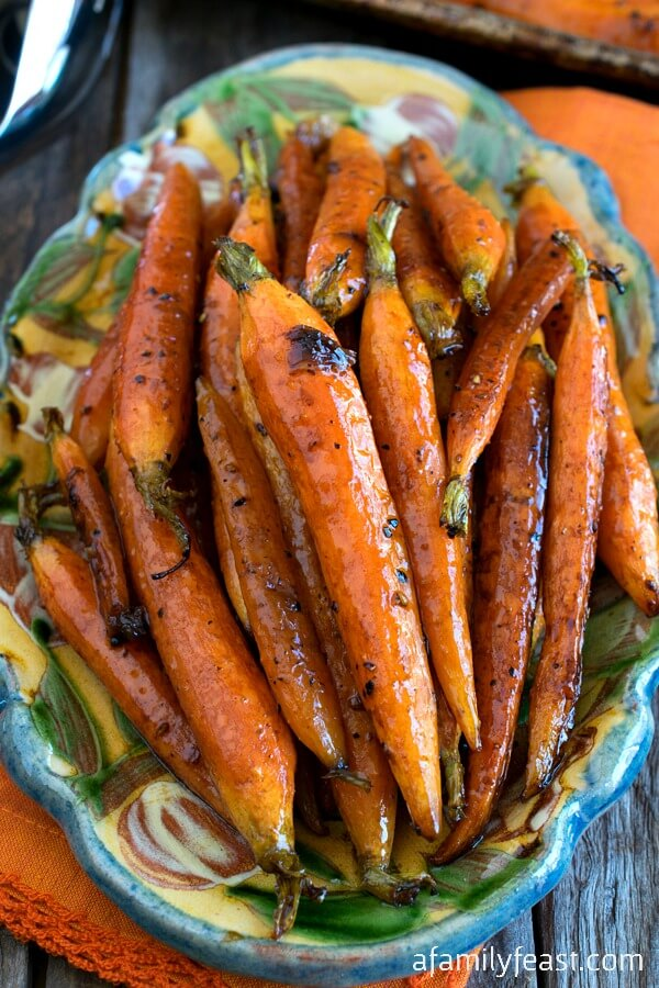#15 Tuscan-Style Roasted Carrots