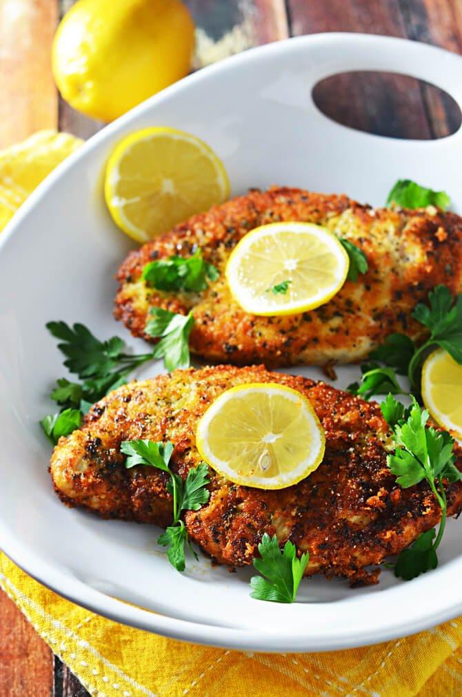 #16 5 Ingredient Breaded Lemon Chicken