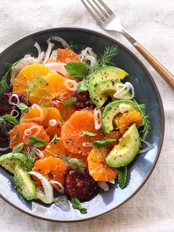 #16 Citrus Fennel And Avocado Salad