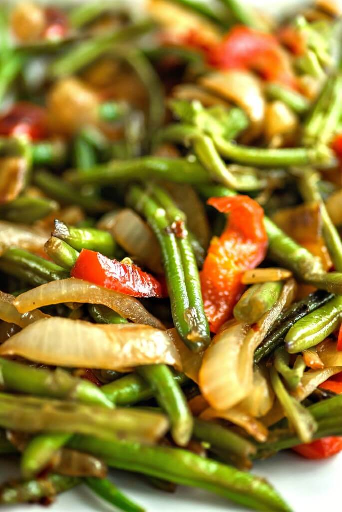 #16 Green Beans Asian Style