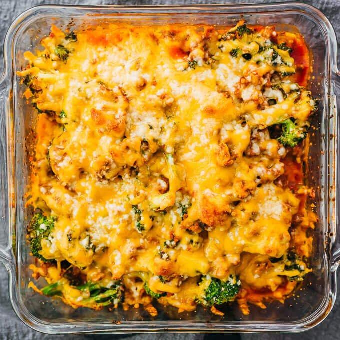 #16 Keto Casserole Ground Beef and Broccoli