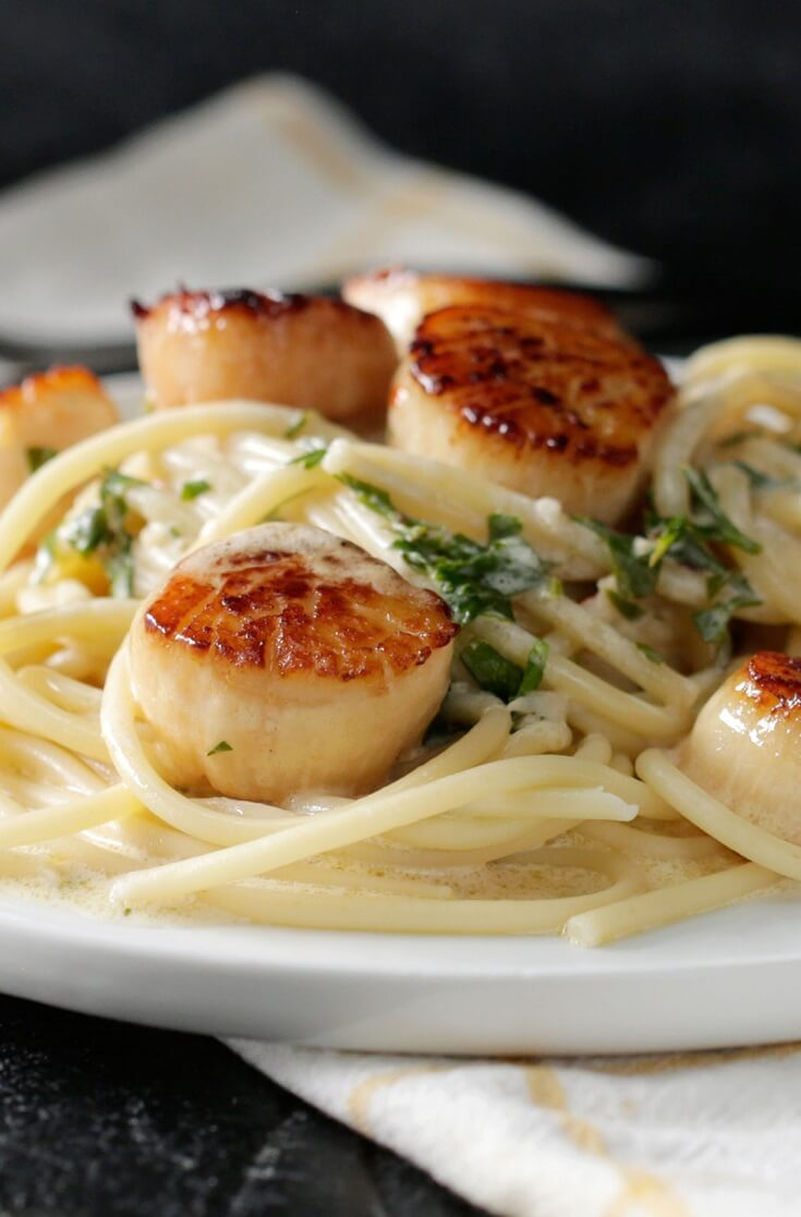 #16 Lemon Garlic Butter Scallops