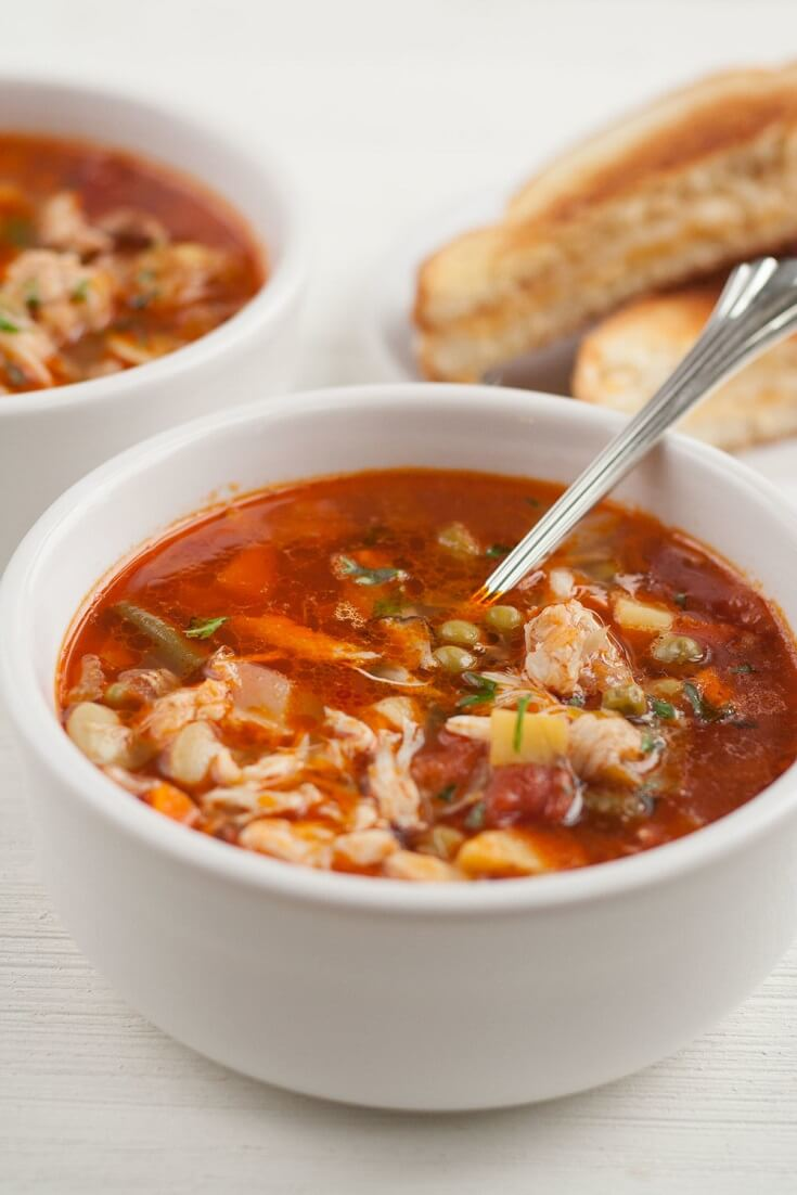 #16 Maryland Crab Soup
