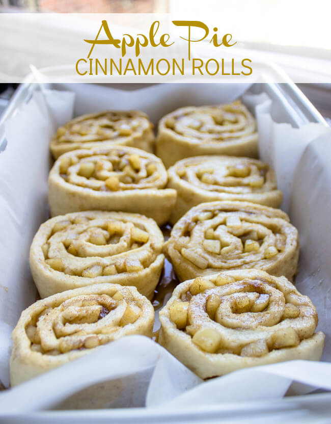 16. Apple Pie Cinnamon Rolls