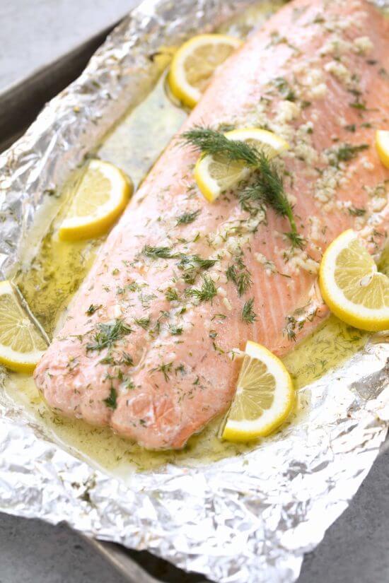 #17 5-Ingredient Baked Salmon