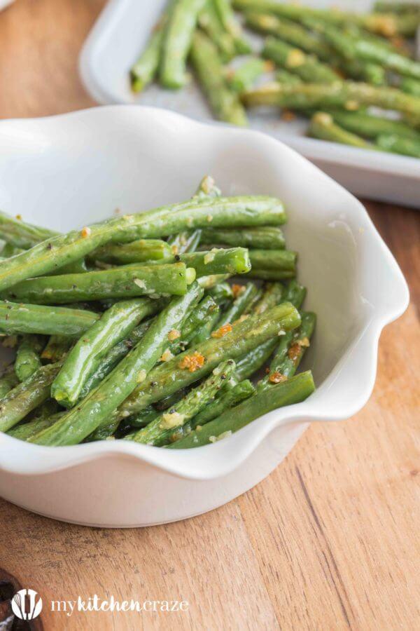 #17 Baked Garlic Green Beans