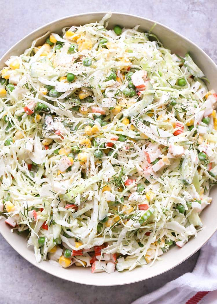 #17 Crab and Cabbage Salad