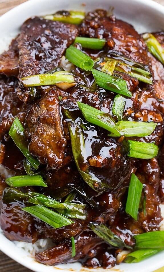 #17 Mongolian Beef